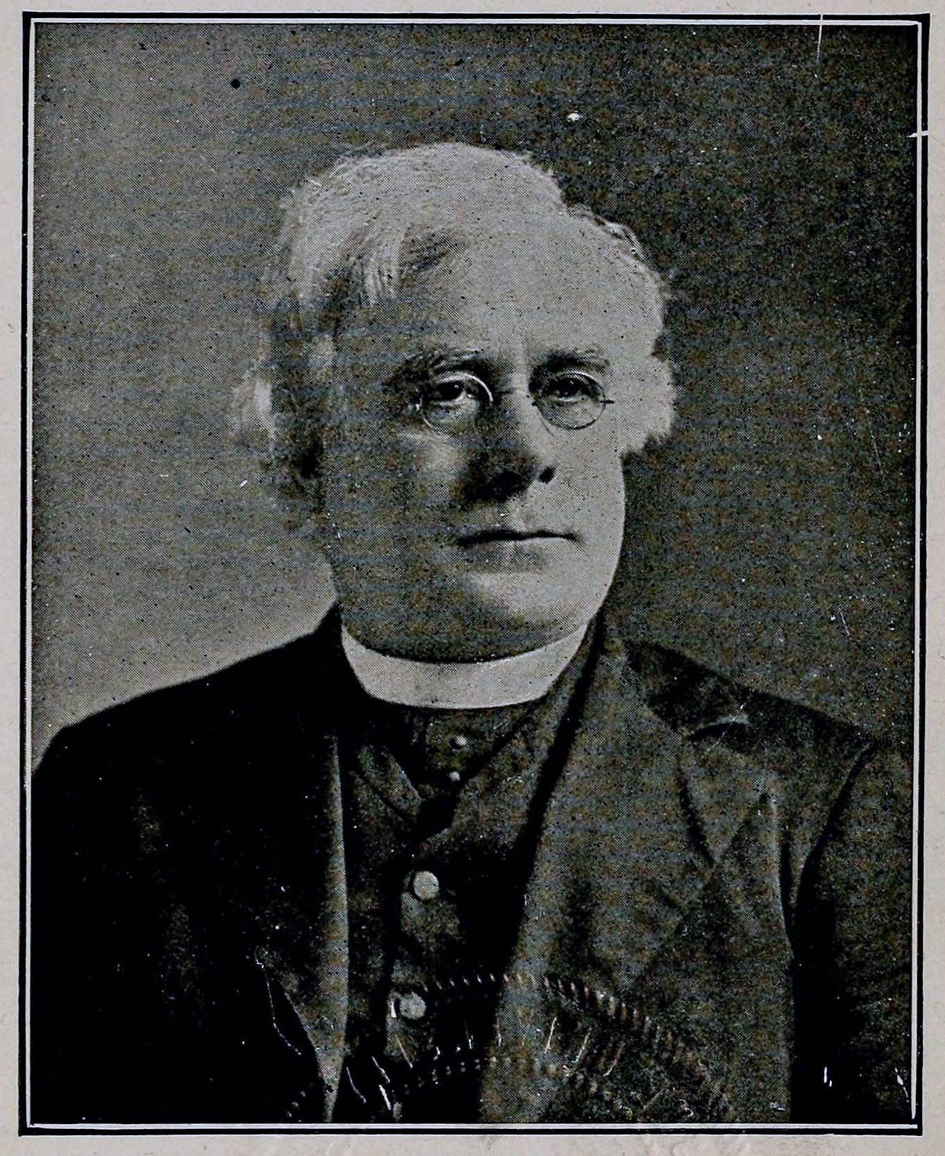 A photograph of Lambing from his 1914 work ''Brief Biological Sketches of the Deceased Bishops and Priests who Labored in the Diocese of Pittsburgh from the Earliest Times to the Present''.