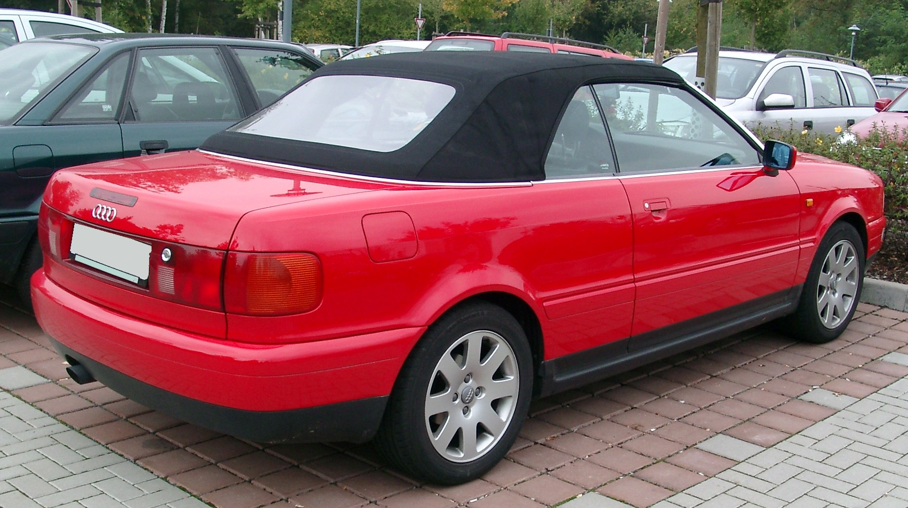 File:Audi B4 Cabriolet rear 20071002.jpg - Wikimedia Commons