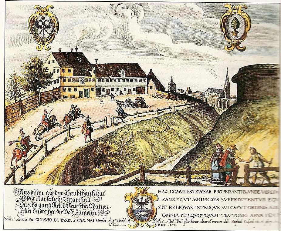 Depiction of Casa de postas
