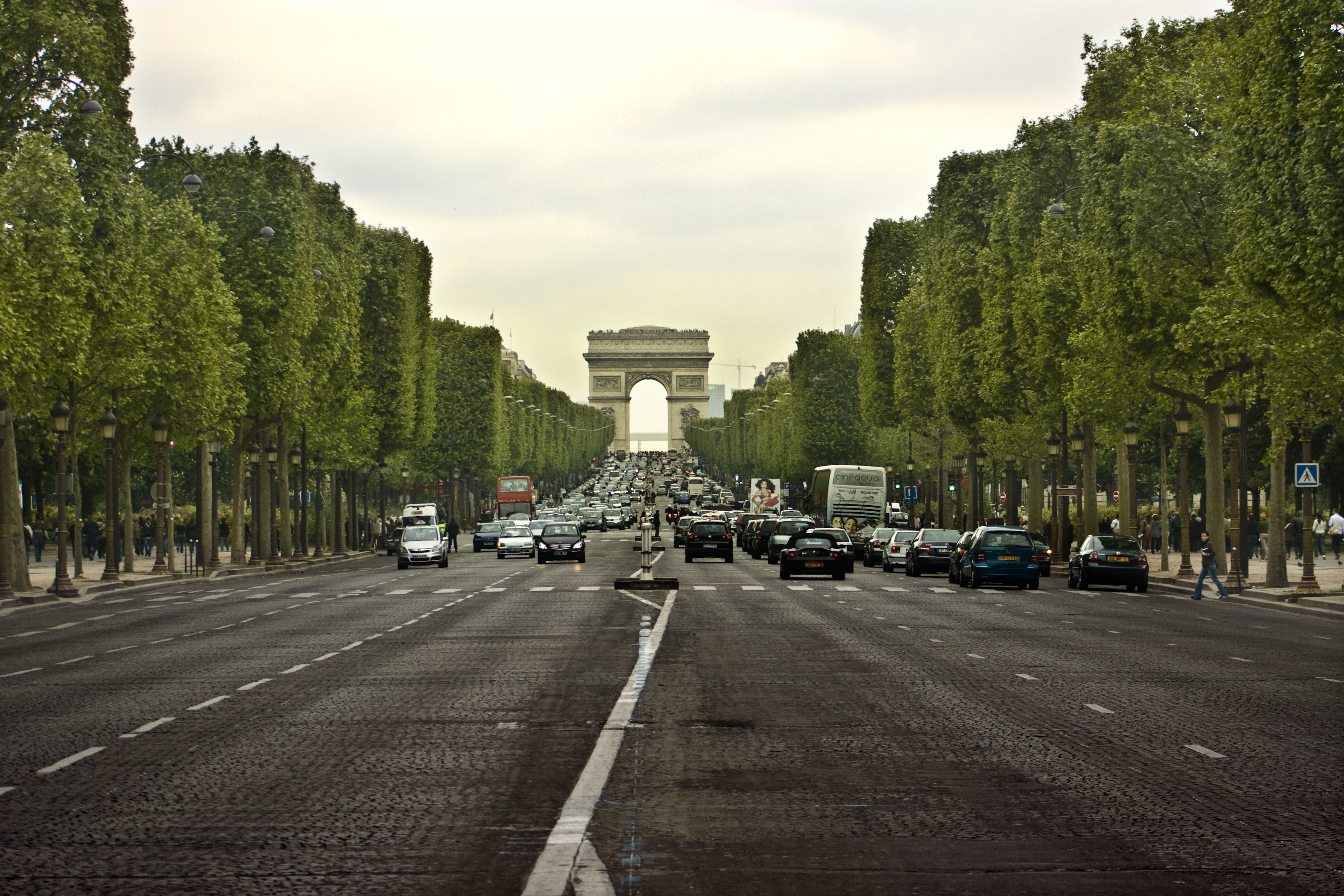 Photographie de l'avenue