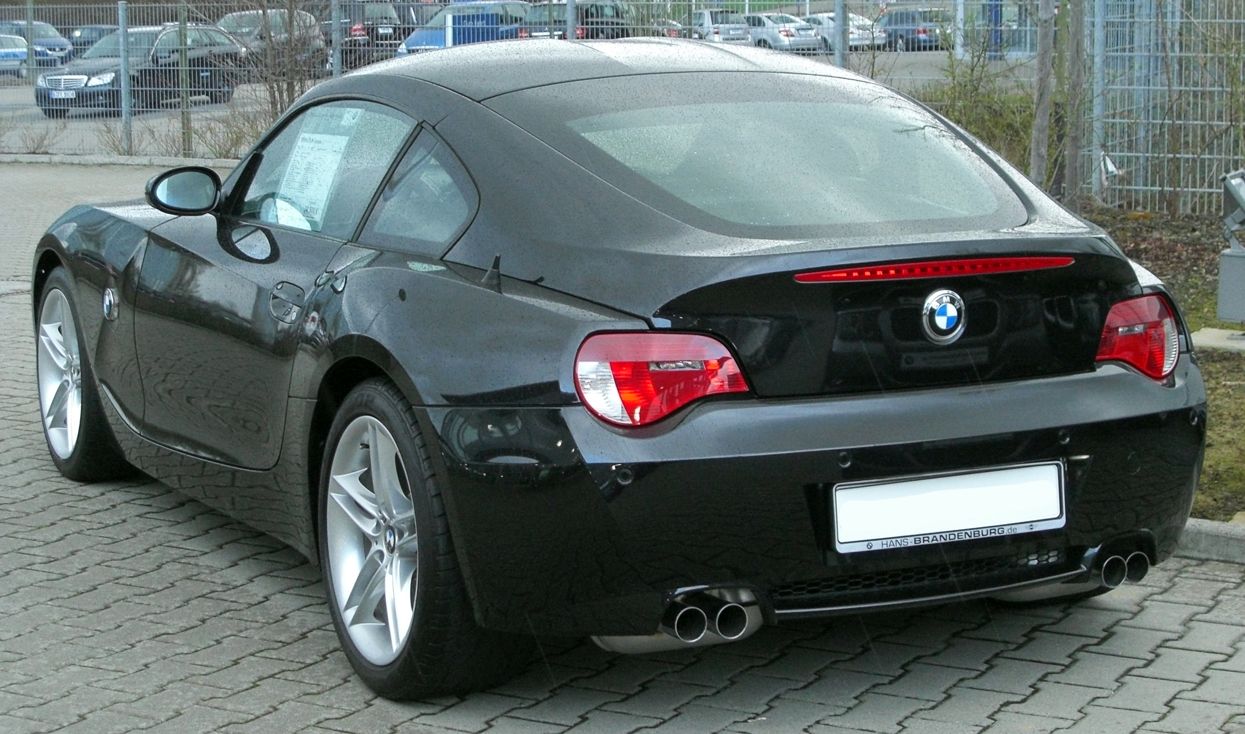 File Bmw Z4 M Coup 233 Rear 20100328 Jpg Wikimedia Commons