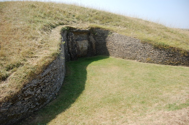 Belas Knap Long Barrow, Ancient Monument - geograph.org.uk - 749576