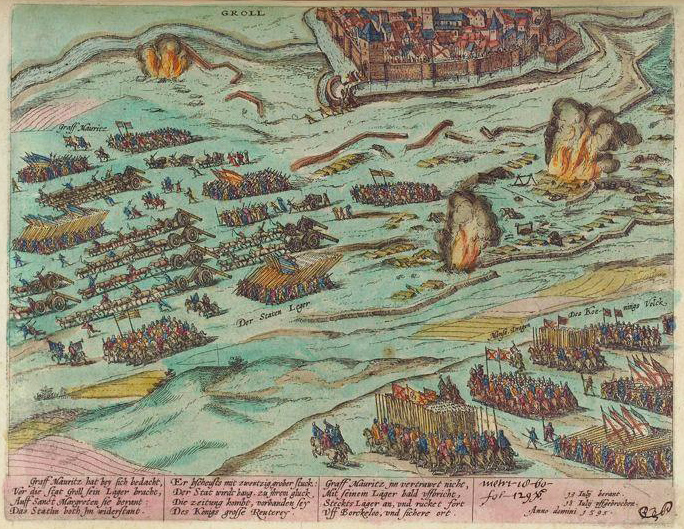 Belegering van Grol in 1595 - Siege of Groenlo in 1595