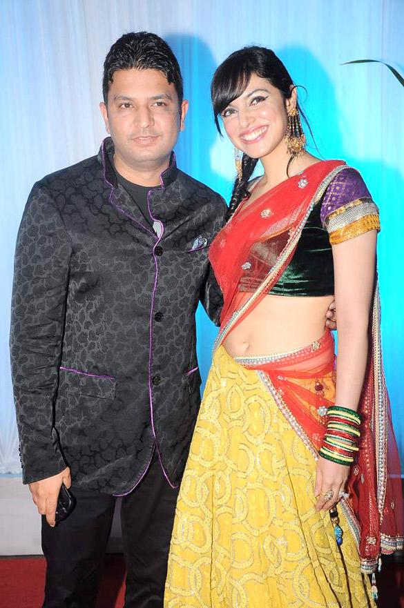 Filebhushan Kumar Divya Khosla At Esha Deols Wedding Reception 22