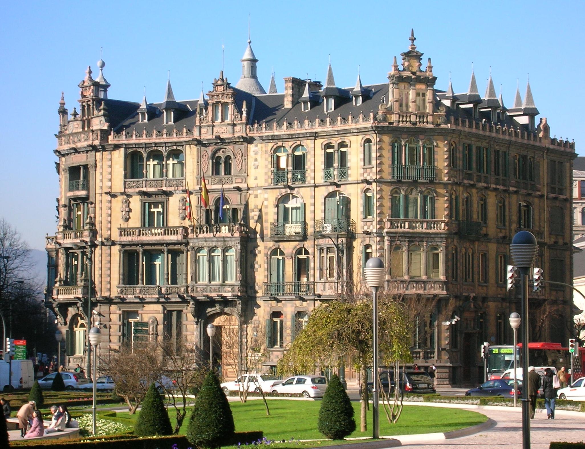 Palais ch varri for Styling bilbao