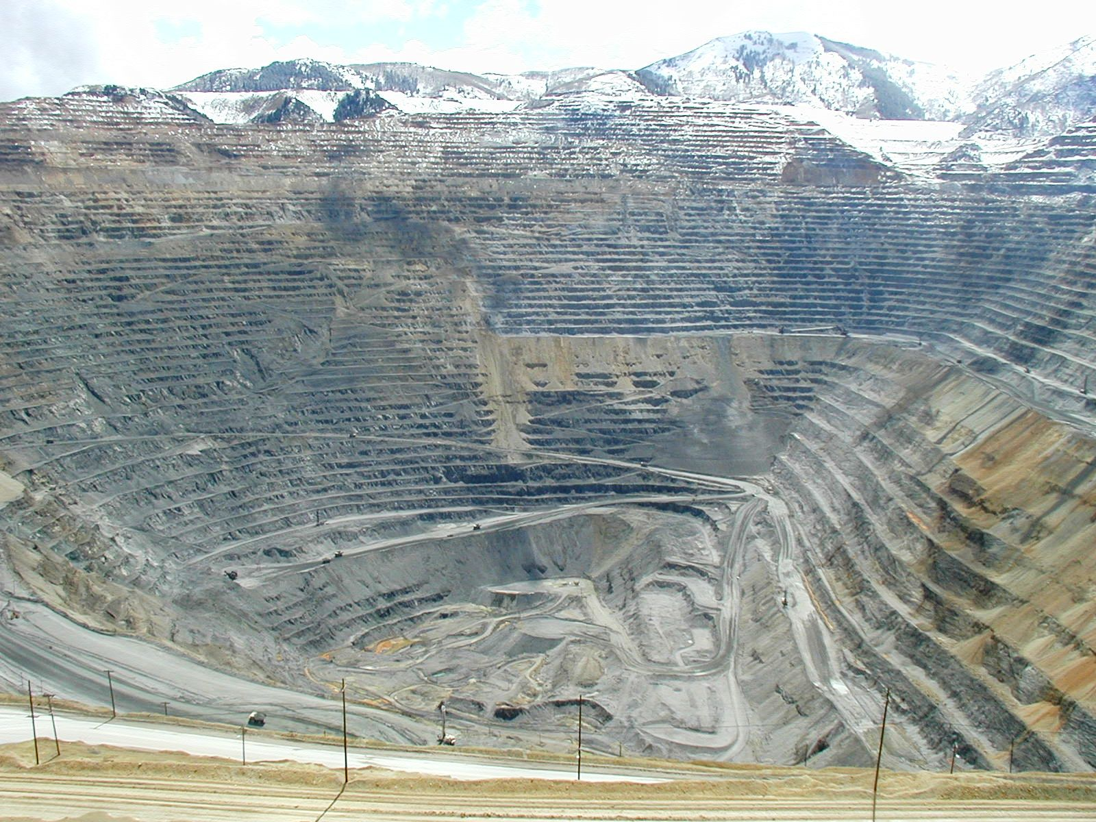 Image result for Bingham Canyon Mine, United States