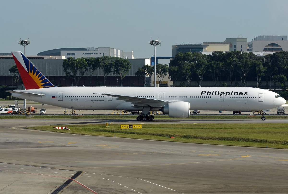 Image result for Boeing 777 Philippine Airlines