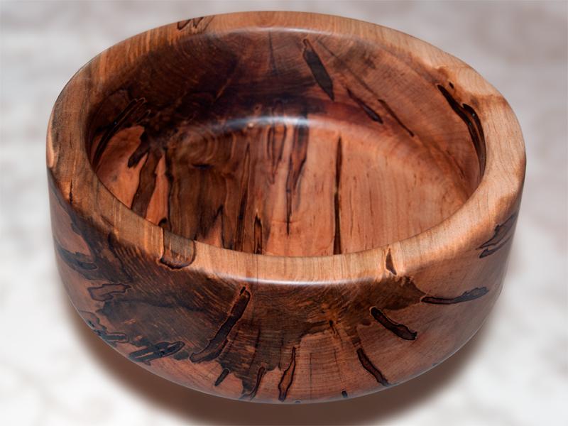 wood turned bowl
