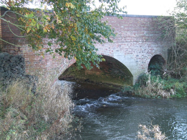 Bridge over the River Tove - geograph.org.uk - 1573482