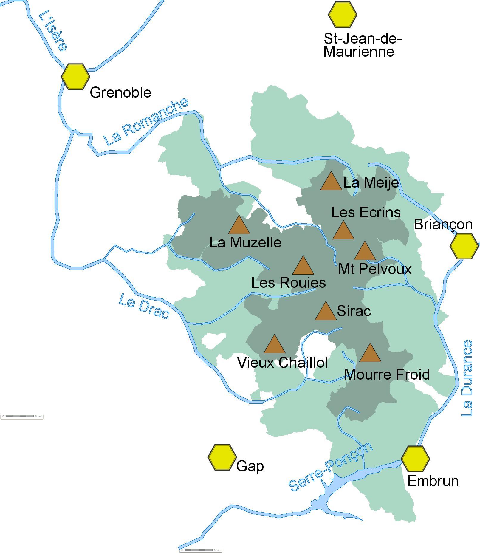 parc des ecrins carte File:Carte topographique écrins.png   Wikimedia Commons