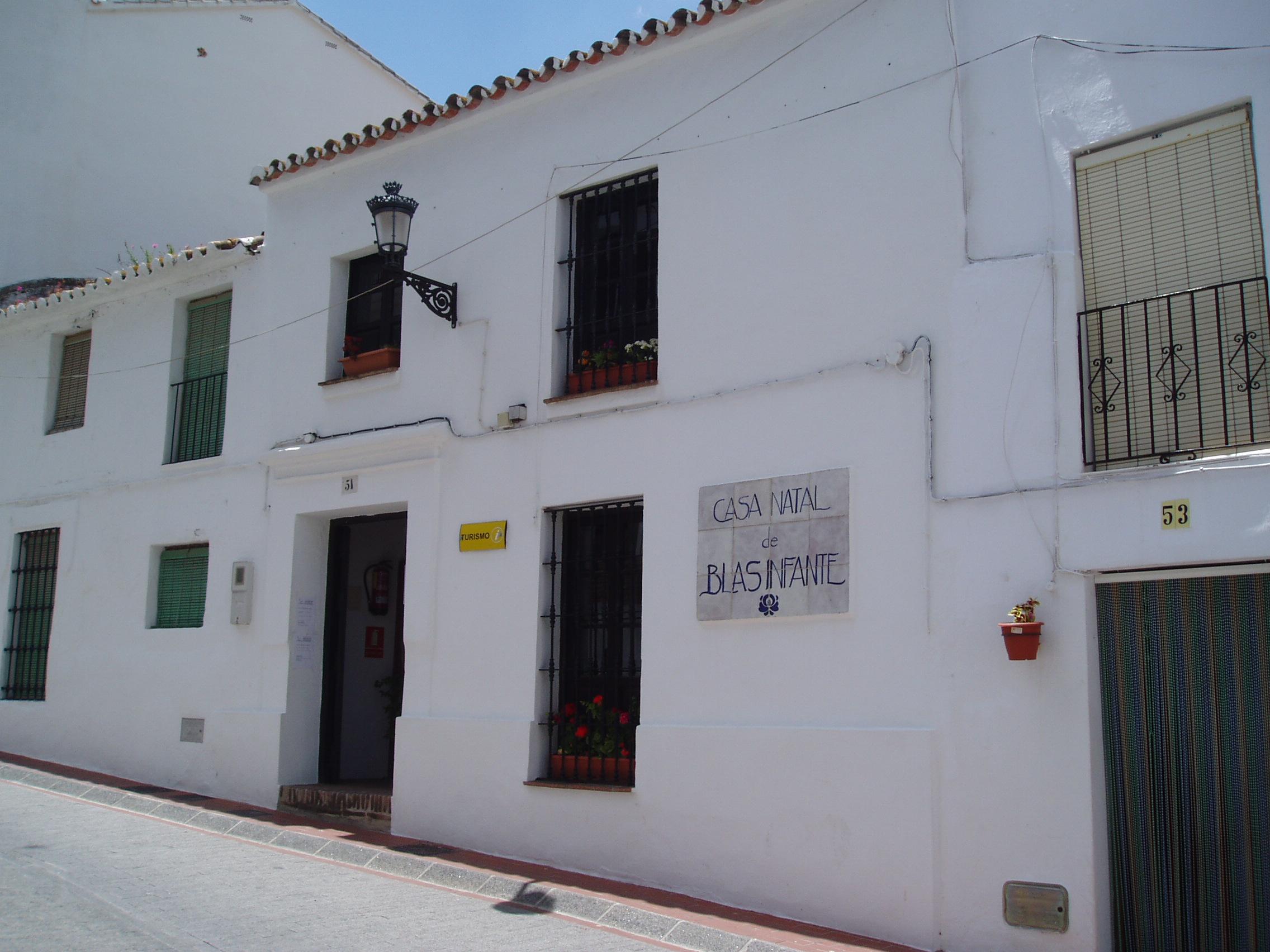Casa natal de Blas Infante en Casares