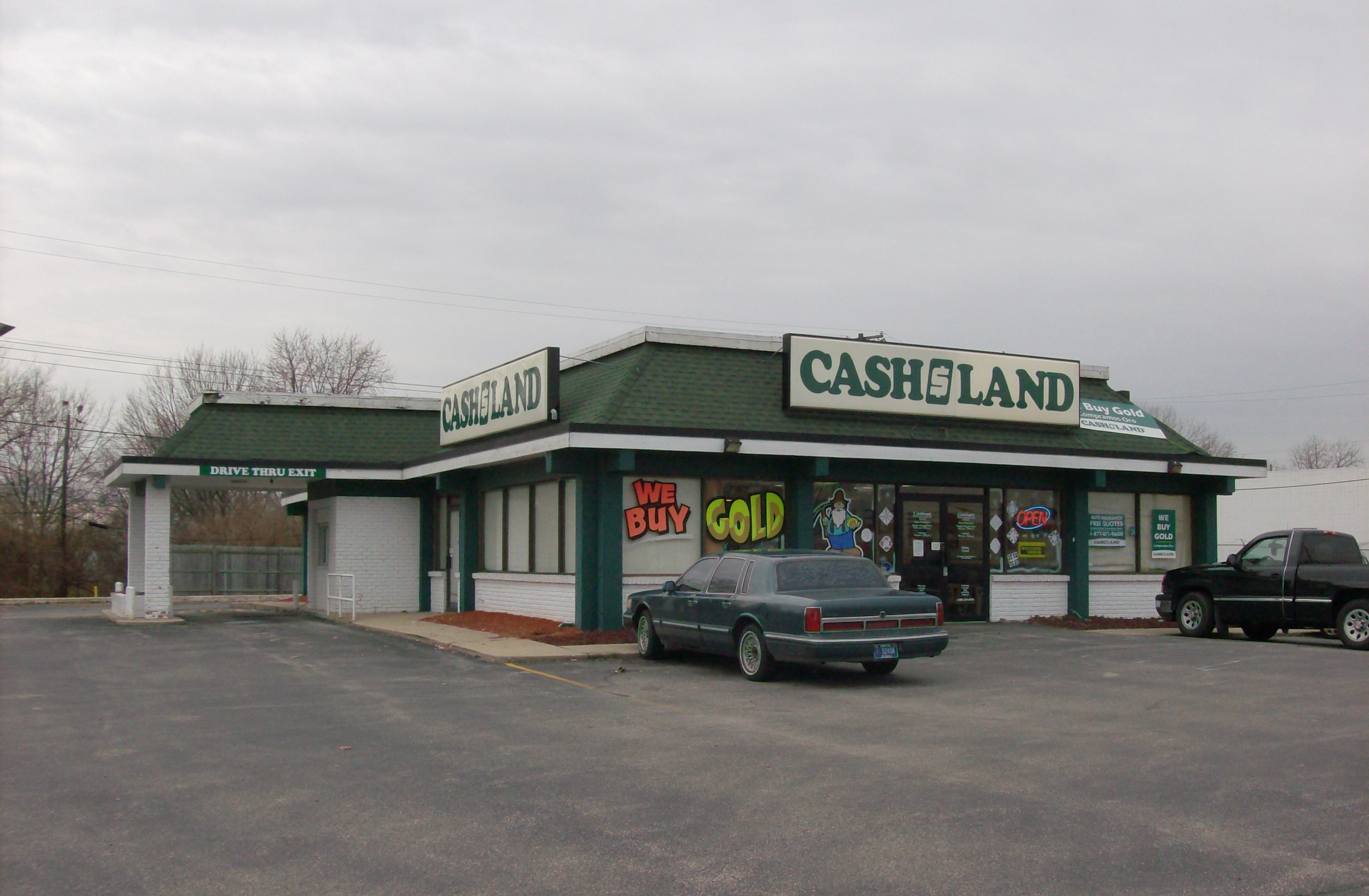 Description Cashland, former Burger Chef, Indy.jpg