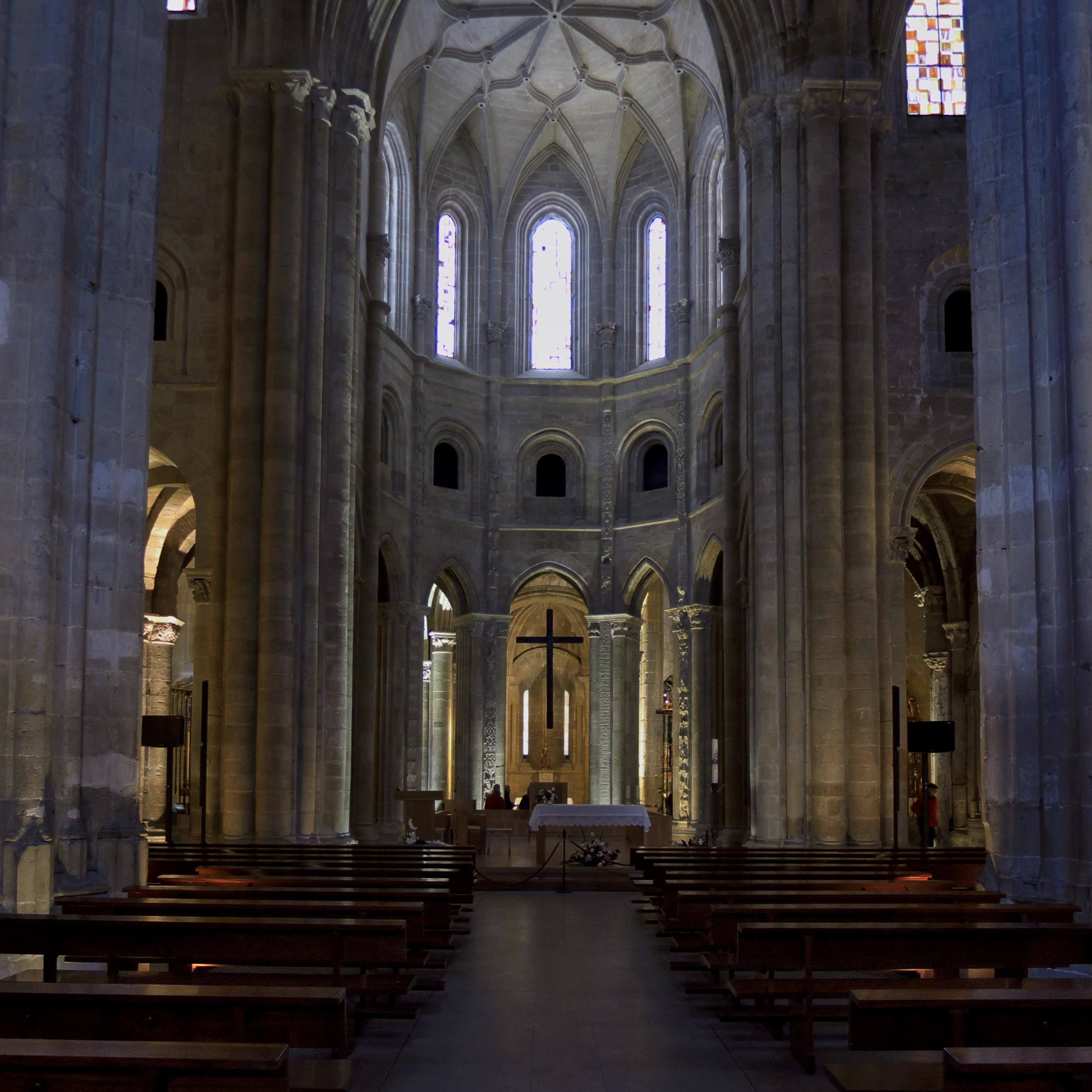 File Catedral De Santo Domingo De La Calzada Girola Cabecera Jpg