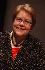 A photograph of Charlotte Bunch, courtesy of the Center for Women's Global Leadership