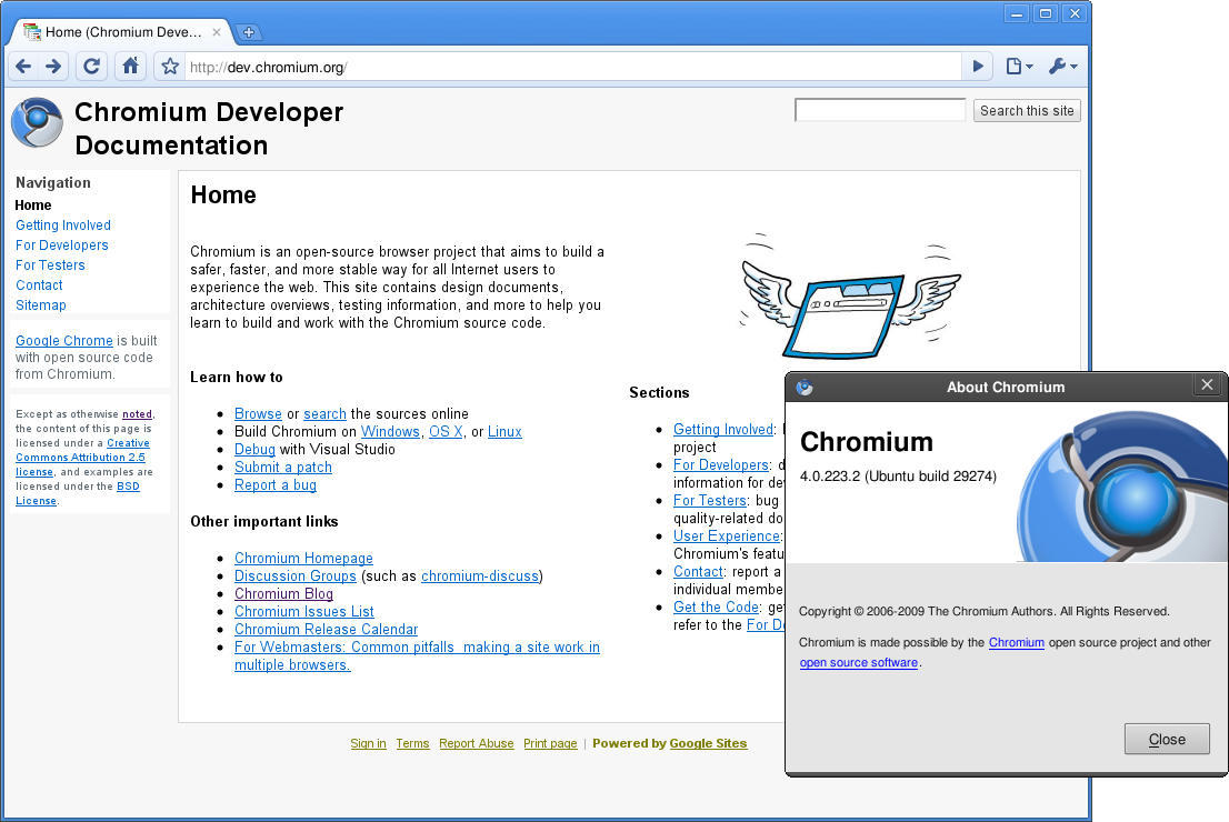 File:Chromium-4 0 223 2 on Ubuntu-9 10 png - Wikimedia Commons