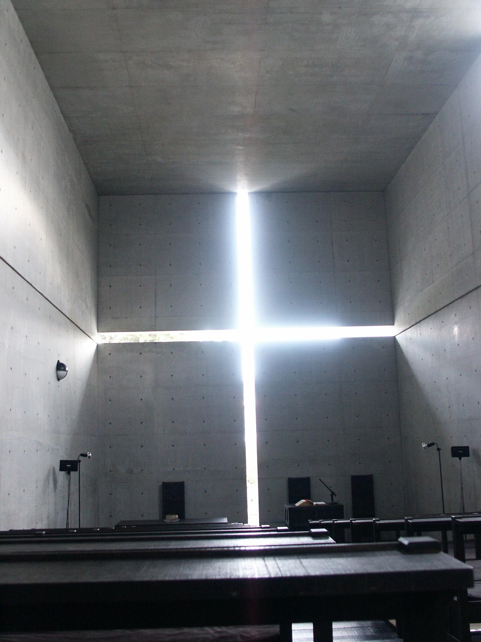 To church of the light ibaraki japan by tadao ando for Archi light