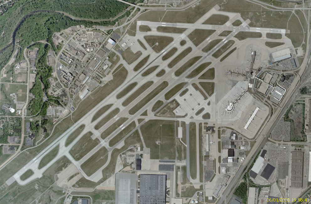 FileCleveland Hopkins International Airport Recent Satellite View - Recent satellite pictures