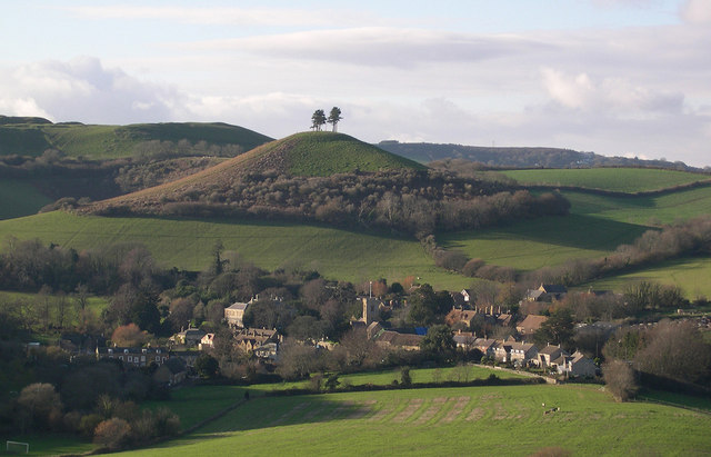 Colmer's Hill above Symondsbury - geograph.org.uk - 409188