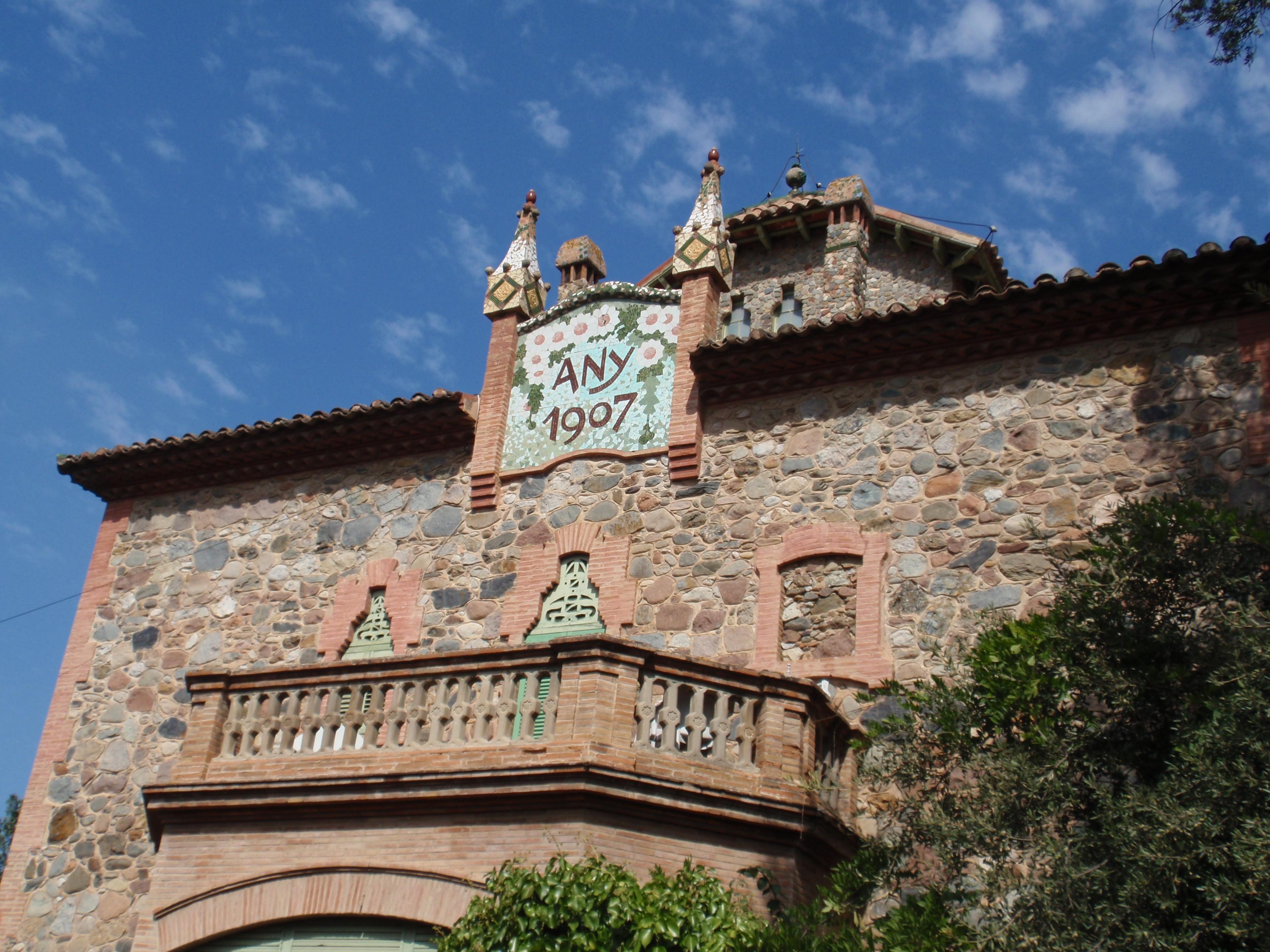 File detall casa llorens la wikimedia commons - Casa la garriga ...