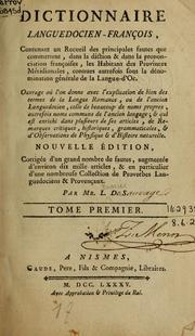 Dictionnaire languedocien-français