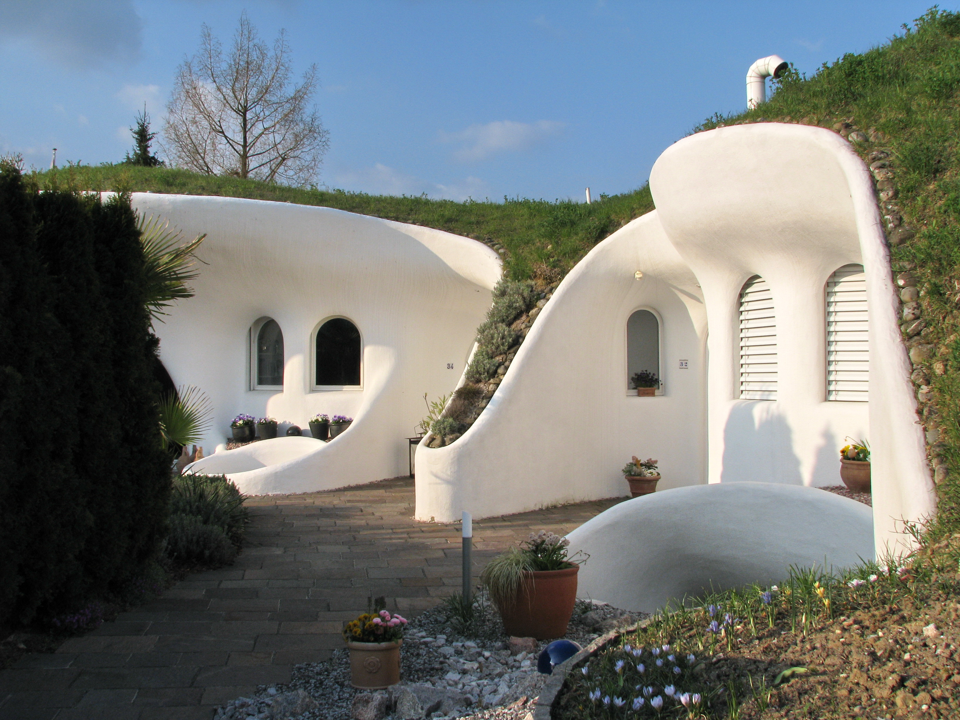 Ba ka tasar m peter vetsch 39 in toprak evleri - The cob house the beauty of simplicity ...