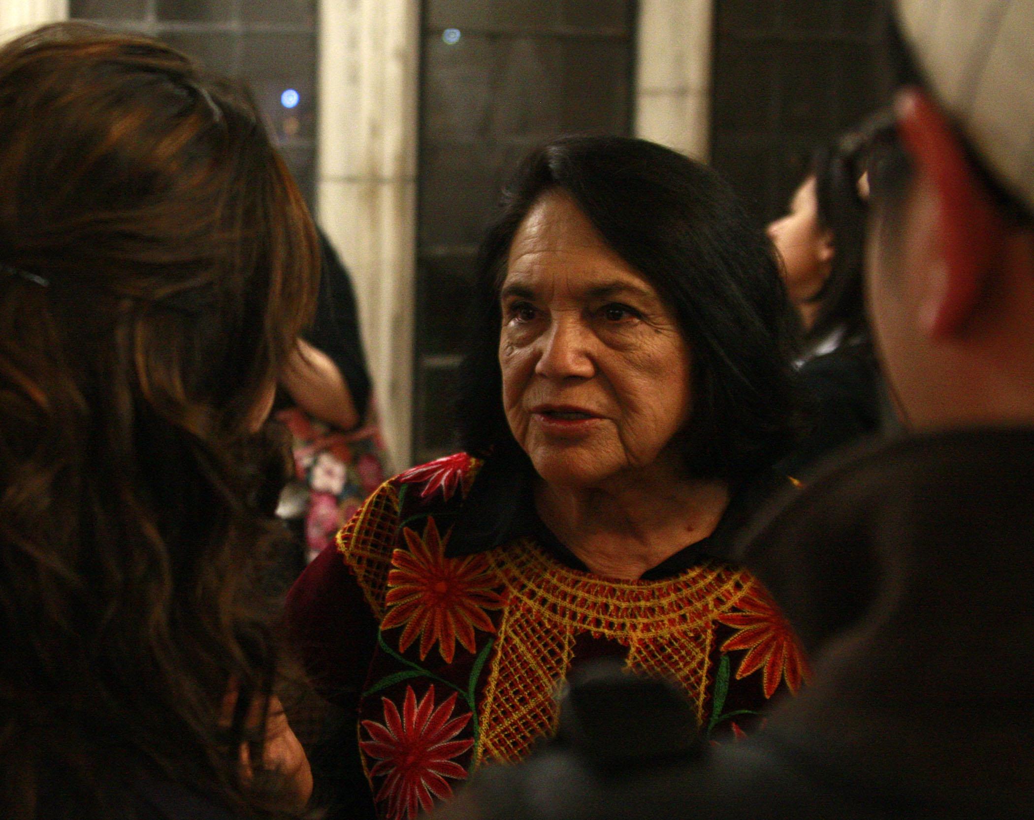 Portrait of Dolores Huerta