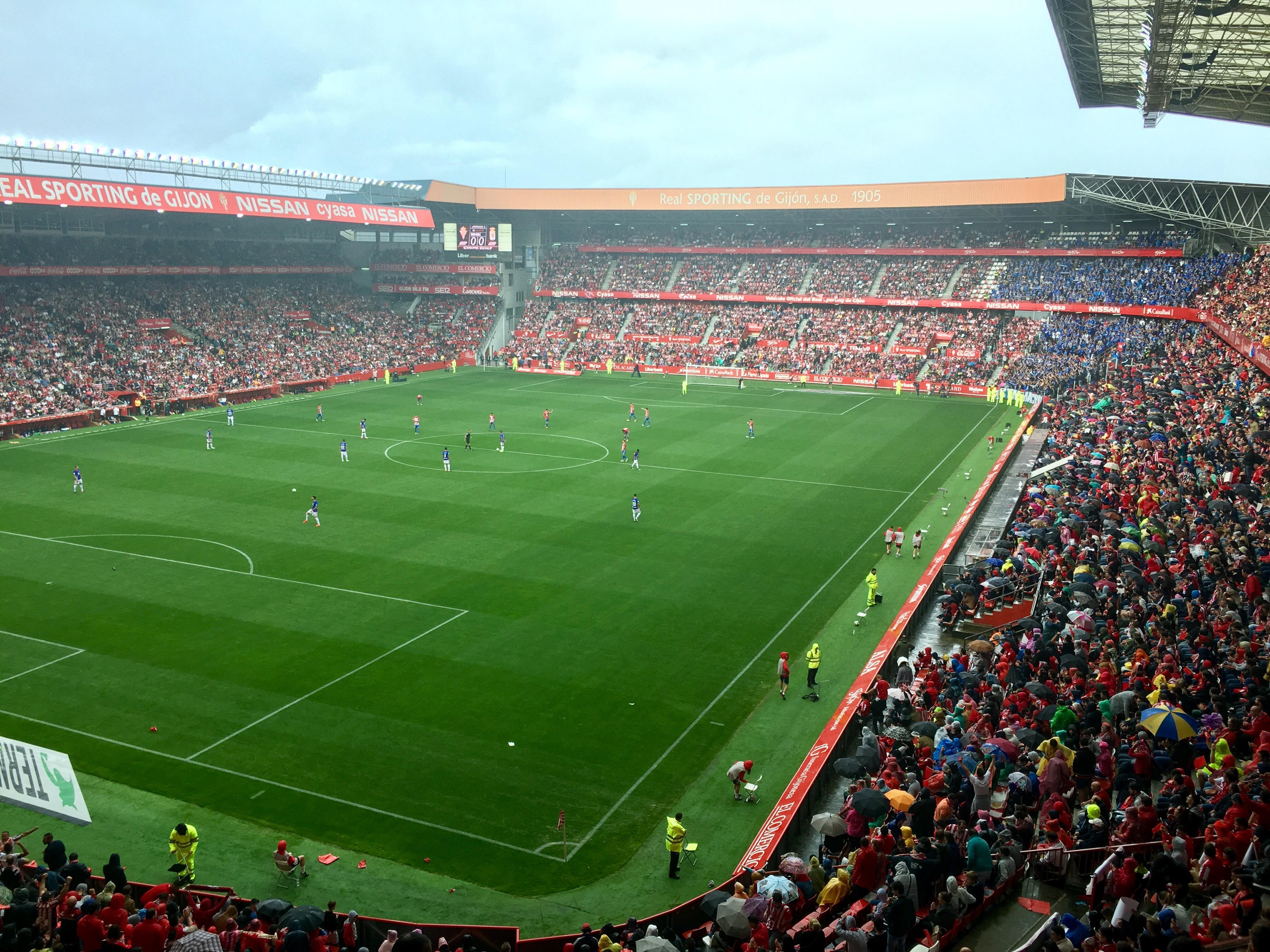 Estadio el molinon gijon fabulous nuevo estadio with estadio el molinon gijon aficionados del - Estadio del sporting de gijon ...