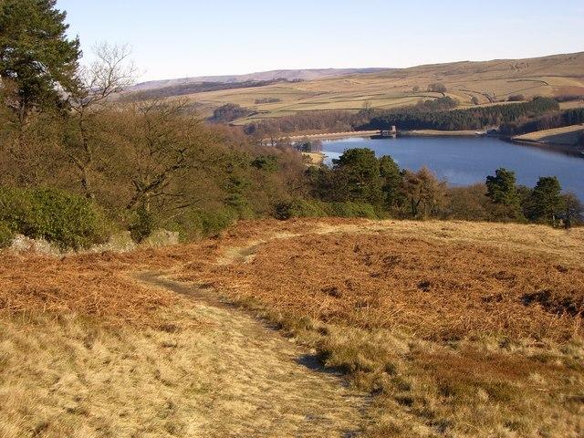 Errwood Reservoir - geograph.org.uk - 718881