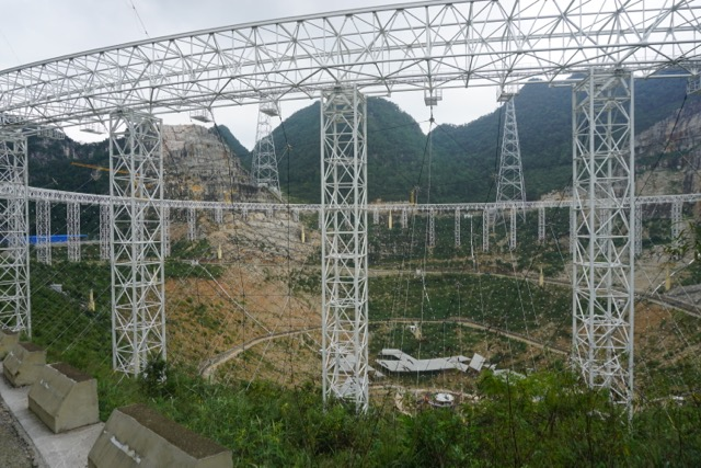 Image result for Operating the largest wireless telescope in the world in China