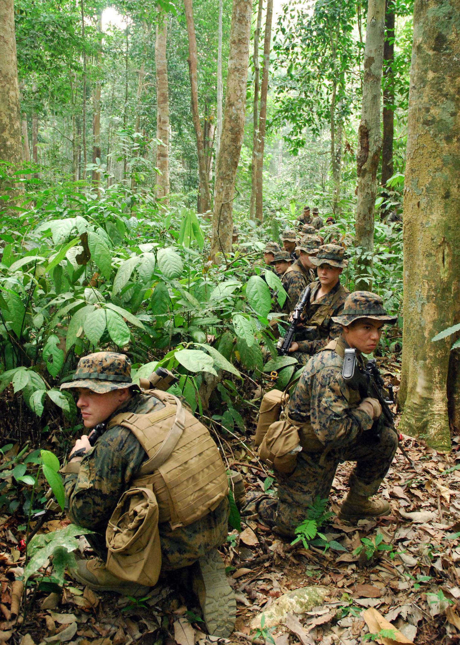 marines platoon