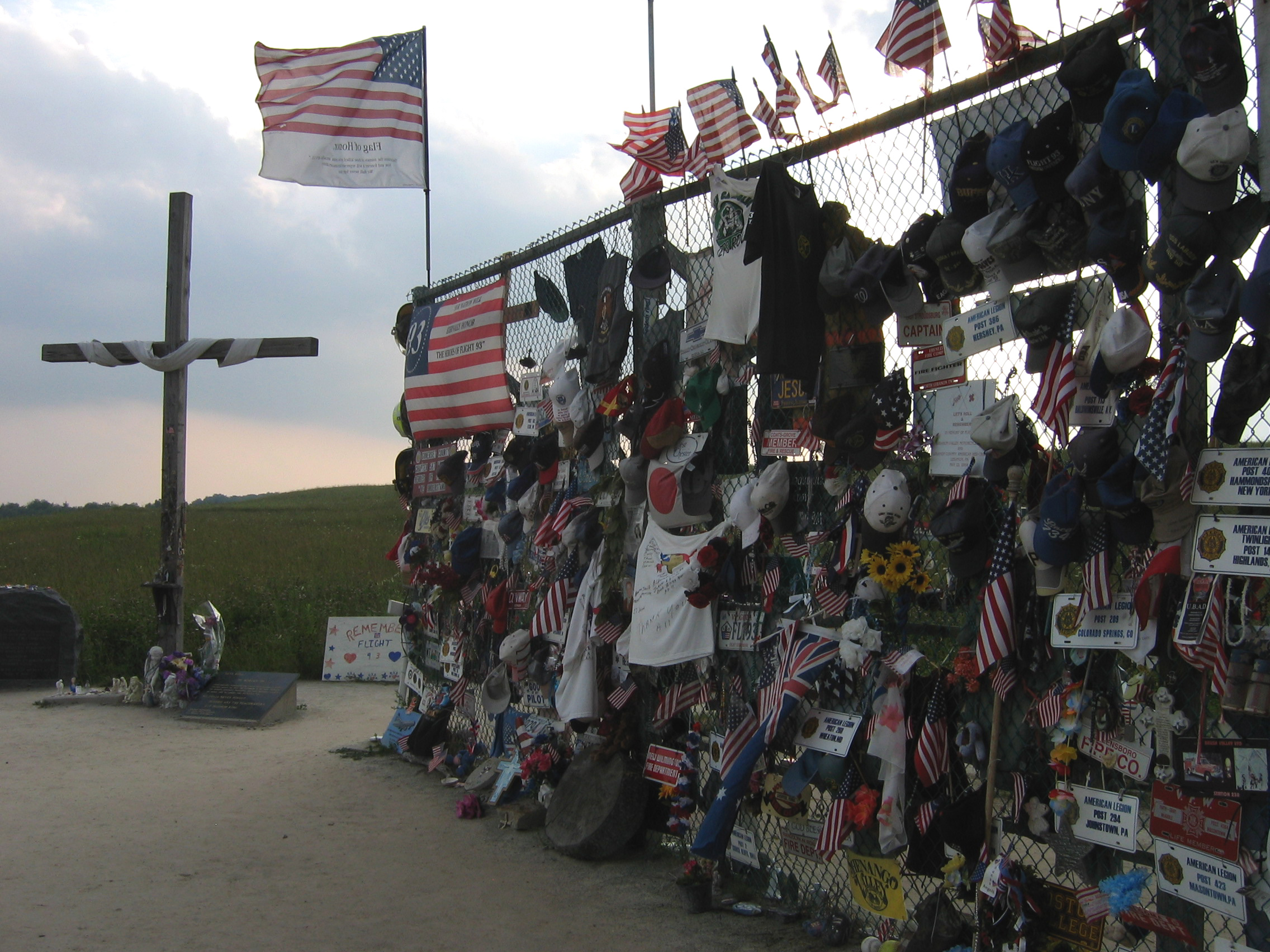 Flight 93 National Memorial i Somerset County, Pennsylvania foto: Aude / CC BY-SA