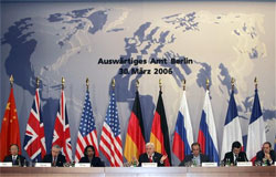 Foreign Ministers of Germany, the US, Great Br...