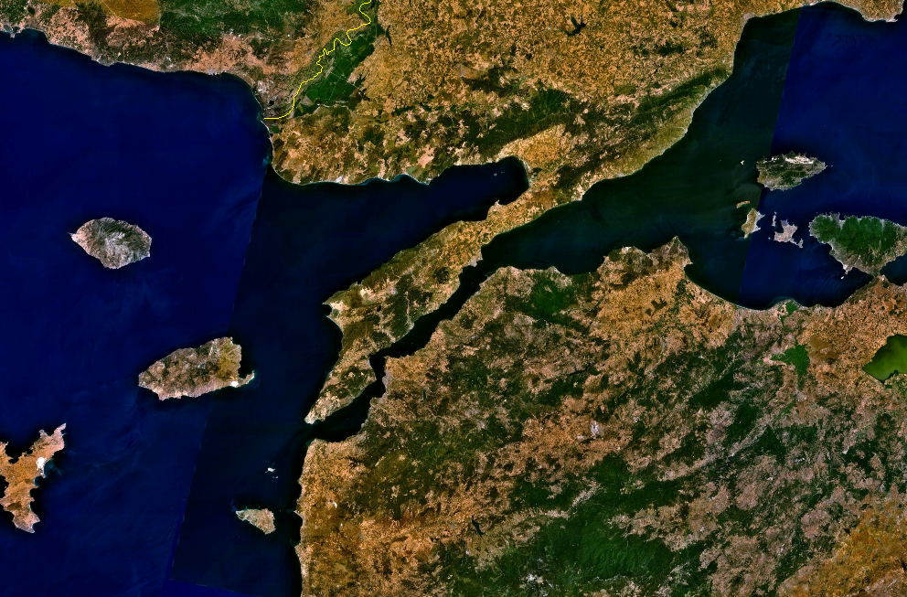 file gallipoli peninsula from space png  file gallipoli peninsula from space png