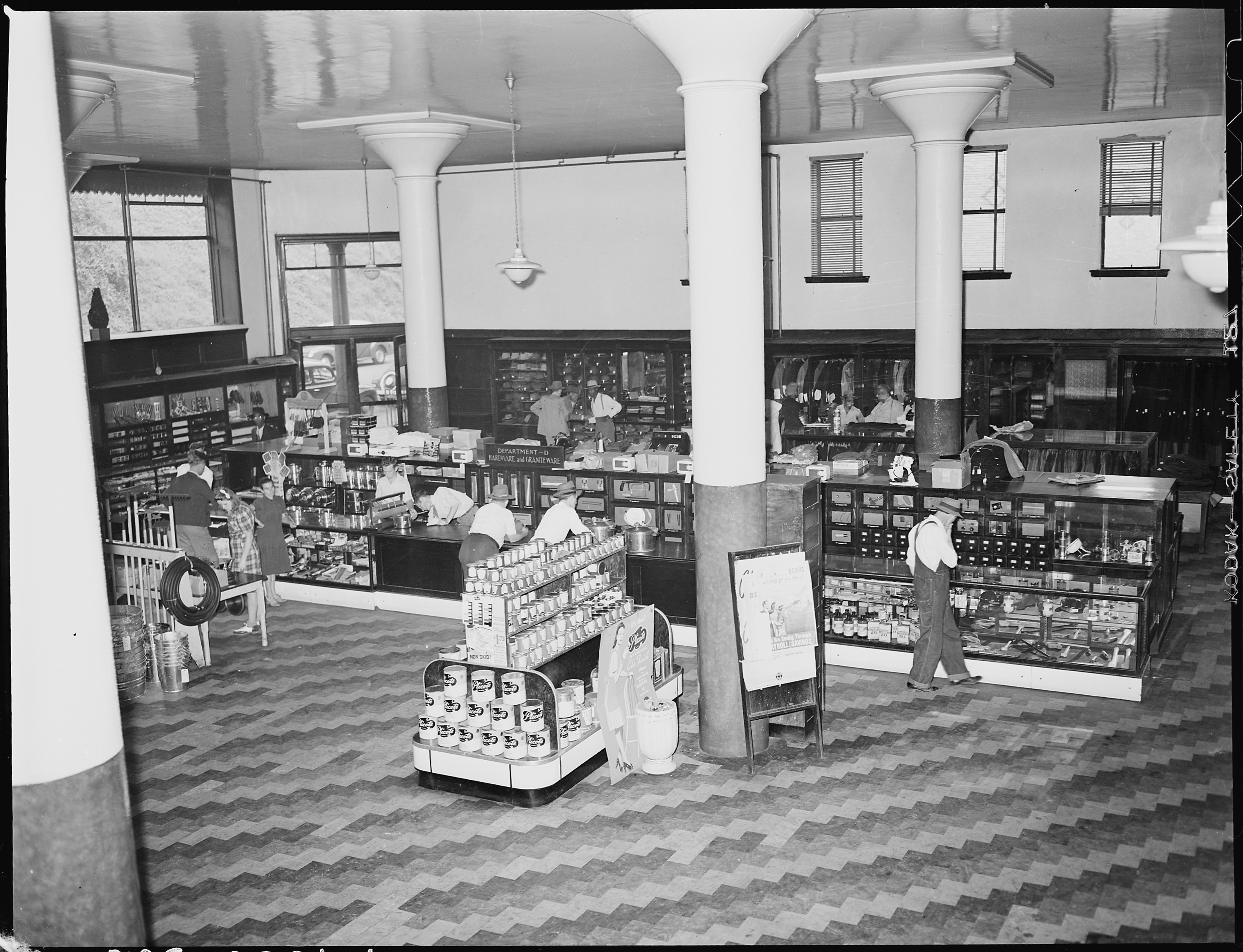 File General Store Operated By Subsidiary Company U S