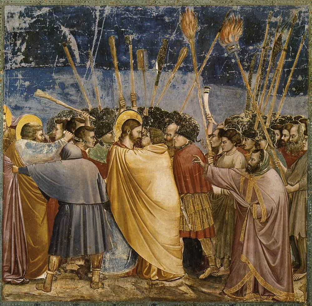 Giotto di Bondone - Bacio di Giuda