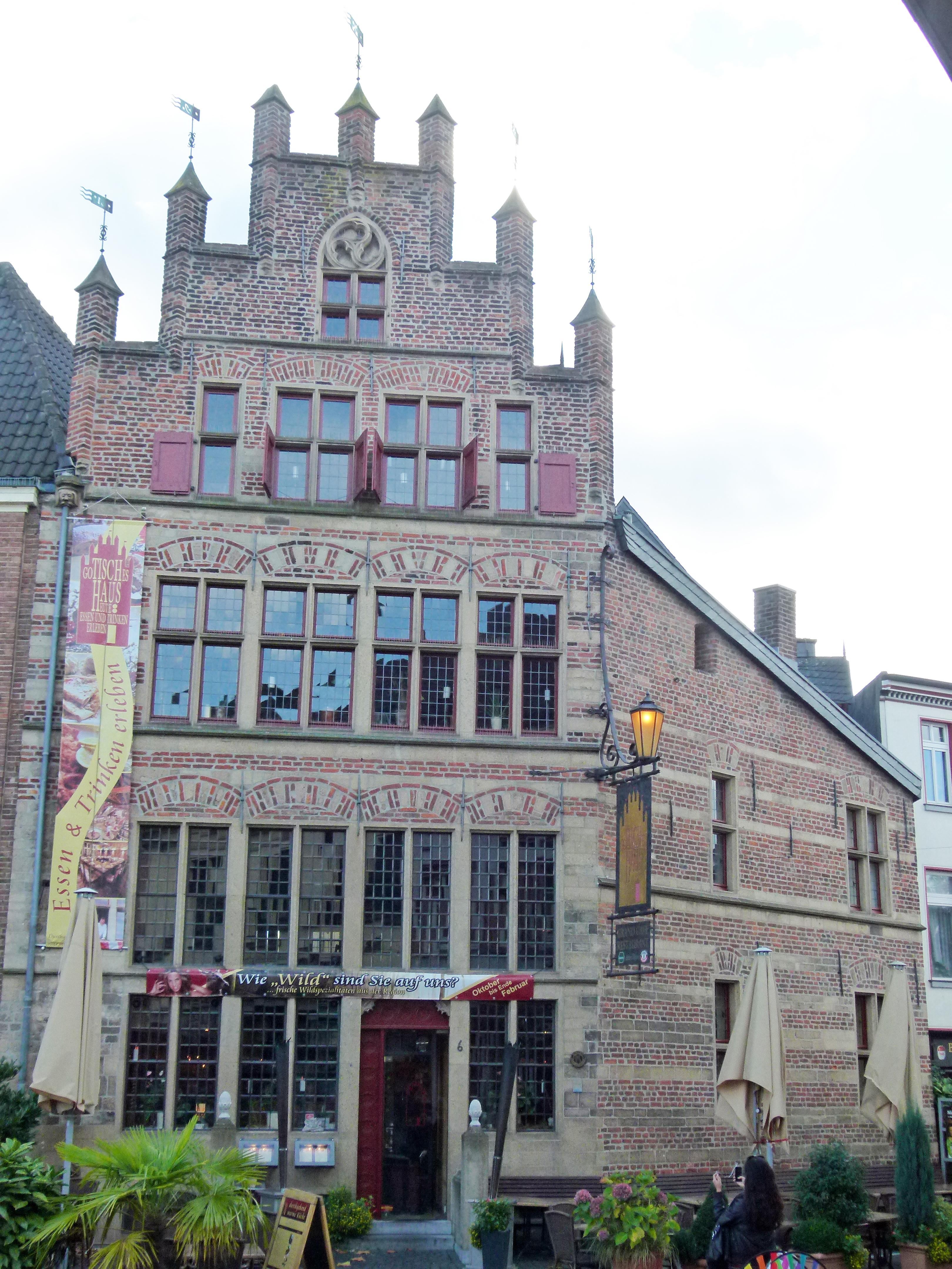 Datei Gotisches Haus Markt 6 Xanten –