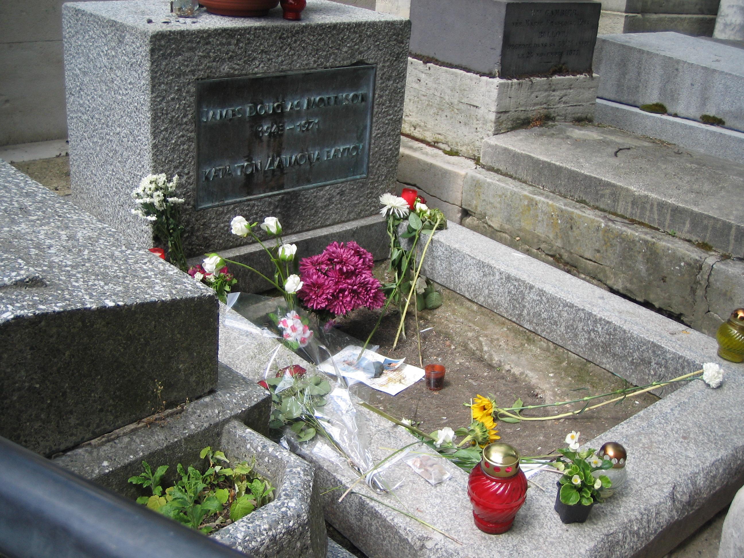 Jim Morrison Grave Site