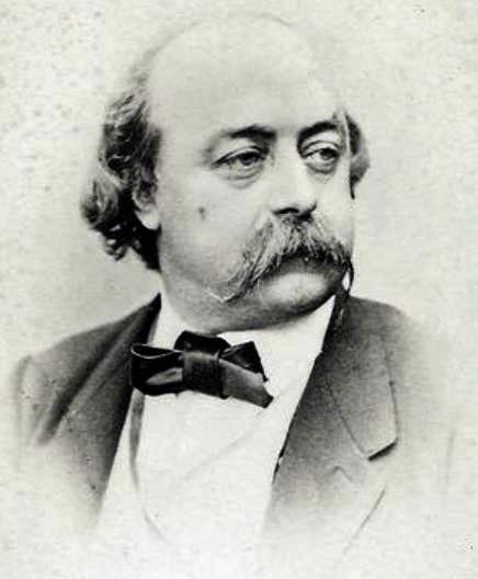 Photo Gustave Flaubert via Opendata BNF
