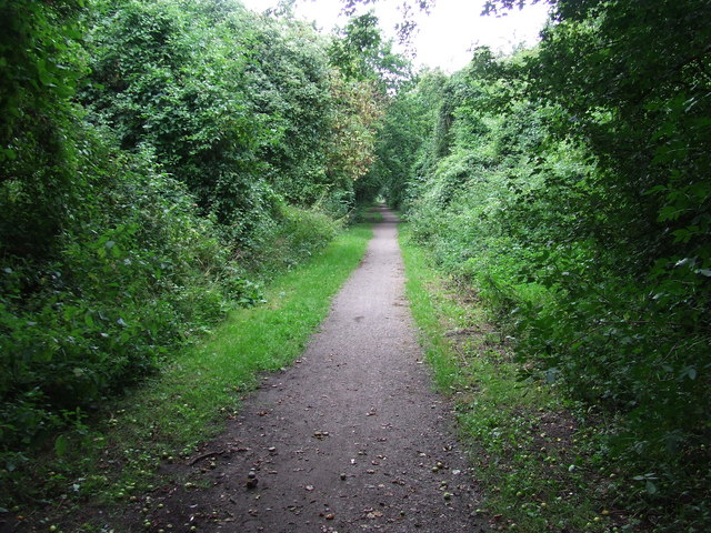 Hadleigh Railway Walk - geograph.org.uk - 523339