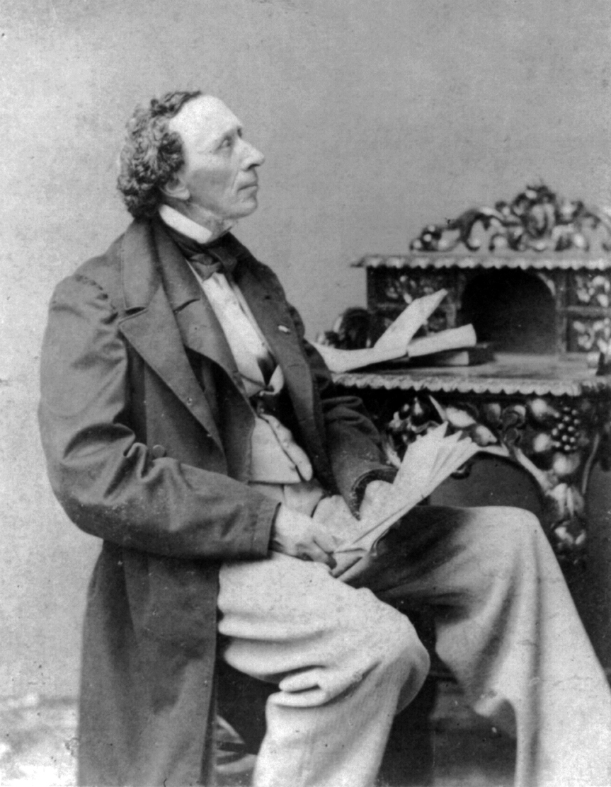 hans christian andersen Hans christian andersen (/ ˈ æ n d ər s ən / danish: [hanˀs ˈkʁæsdjan ˈɑnɐsn̩] ( listen) 2 april 1805 – 4 august 1875) was a danish author although a prolific writer of plays, travelogues , novels and poems, andersen is best remembered for his fairy tales.