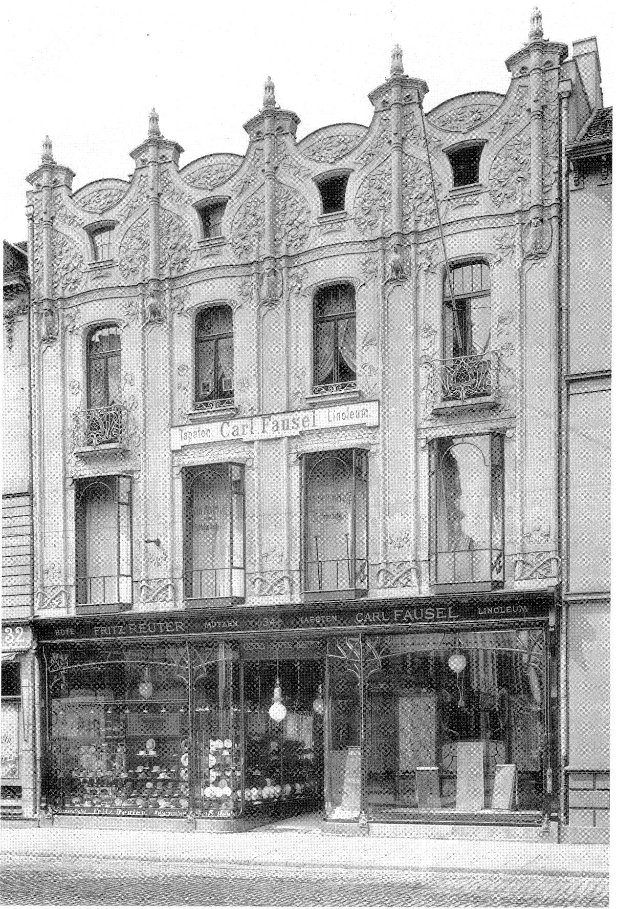 datei haus schadowstra e 34 d sseldorf 1899 von. Black Bedroom Furniture Sets. Home Design Ideas