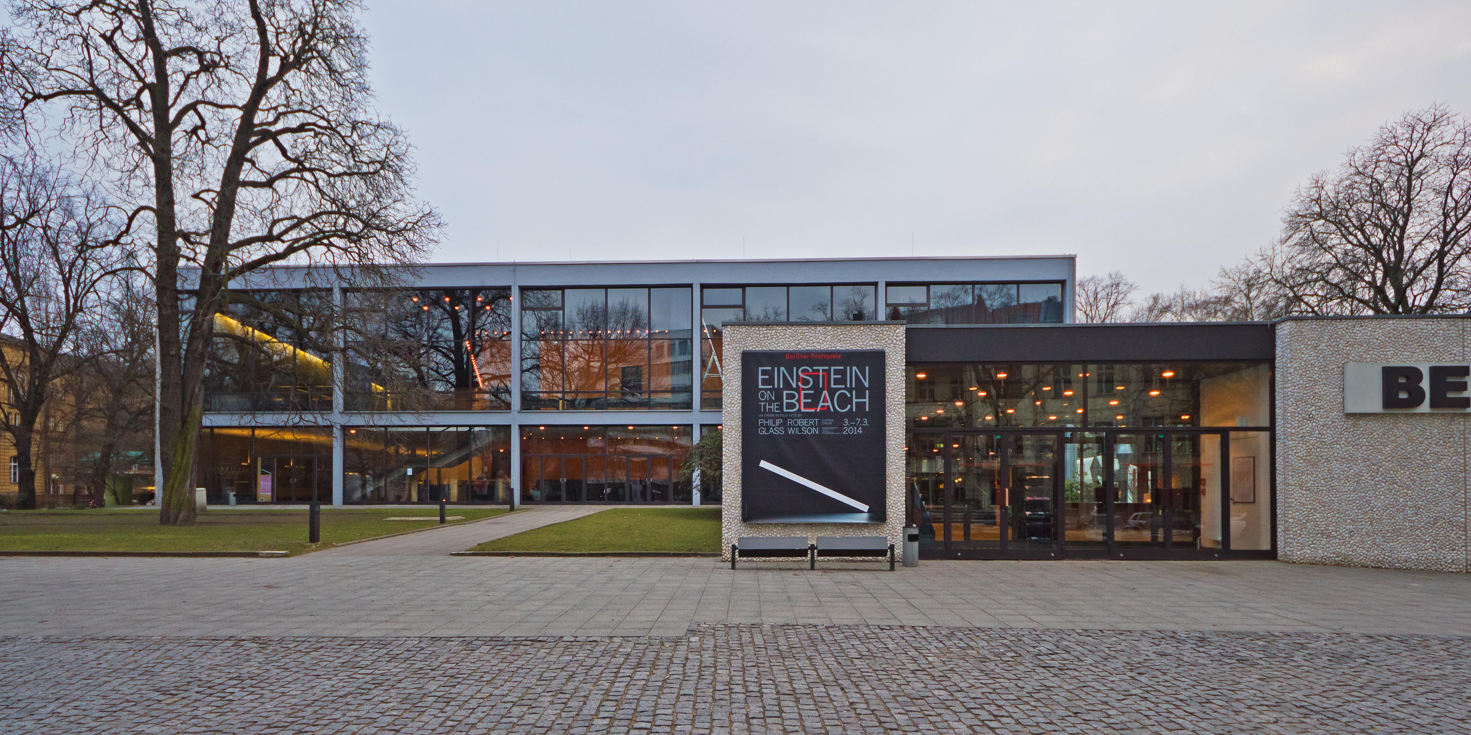 Haus Der Berliner Festspiele Wikipedia