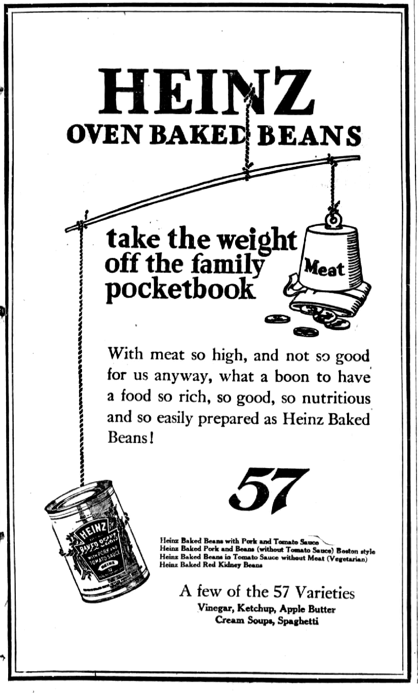 File:Heinz oven-baked beans newspaper.png - Wikimedia Commons