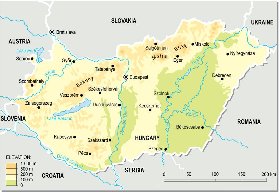 magyarország kistájai térkép Magyarország természetföldrajza – Wikipédia magyarország kistájai térkép