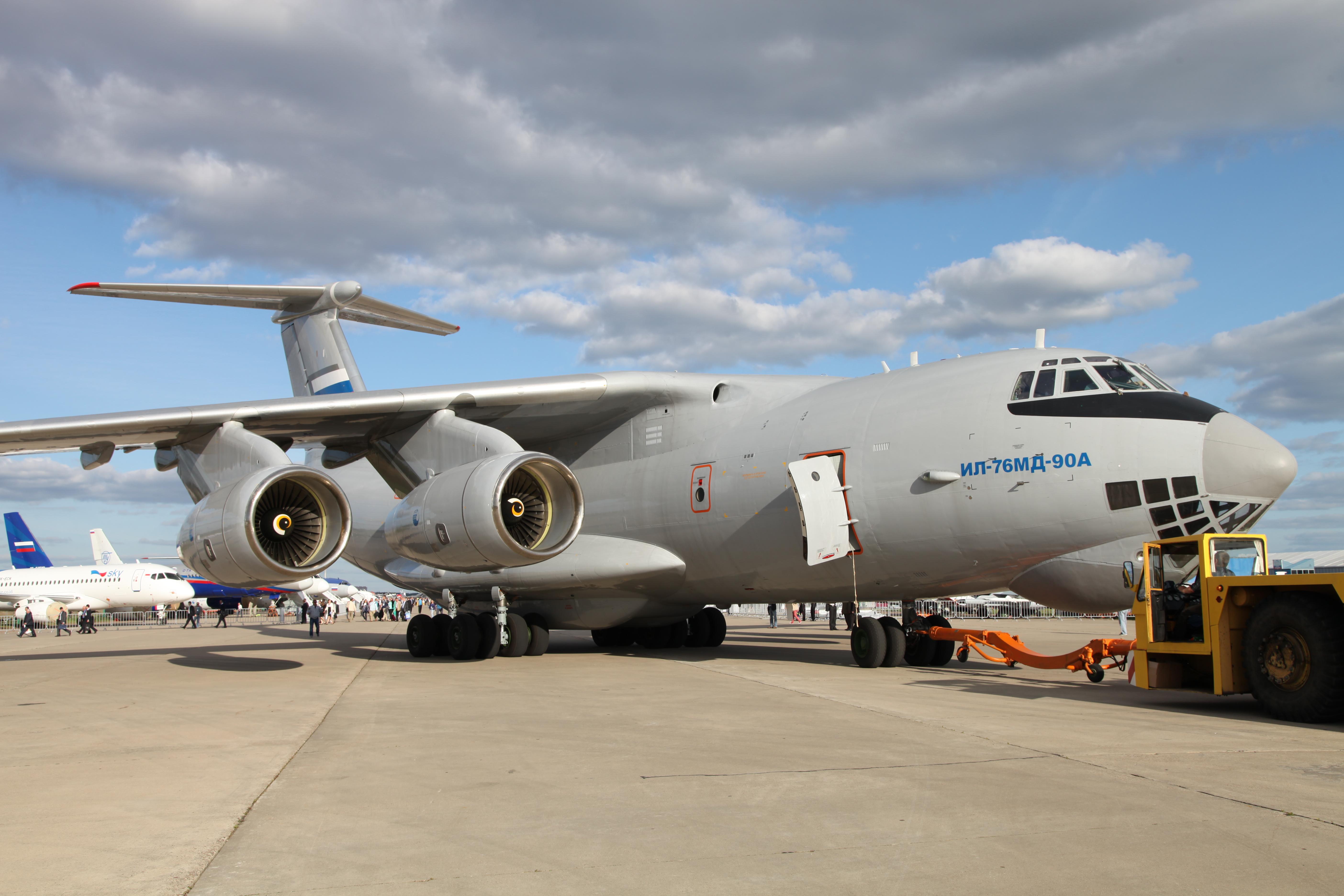 Обои Самолёт, Il-76, ВВС Украины, Ильюшин, Военно-транспортный. Авиация foto 17