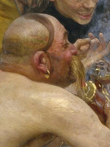 File:Ilja Jefimowitsch Repin - Zaporozhian Cossacks (image detail) 2.jpg