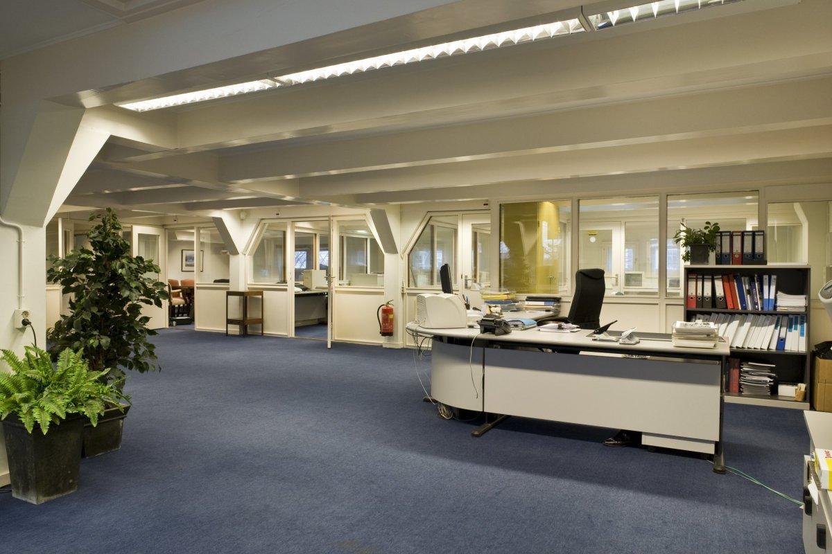 File interieur overzicht open ruimte op de tweede for Interieur amsterdam
