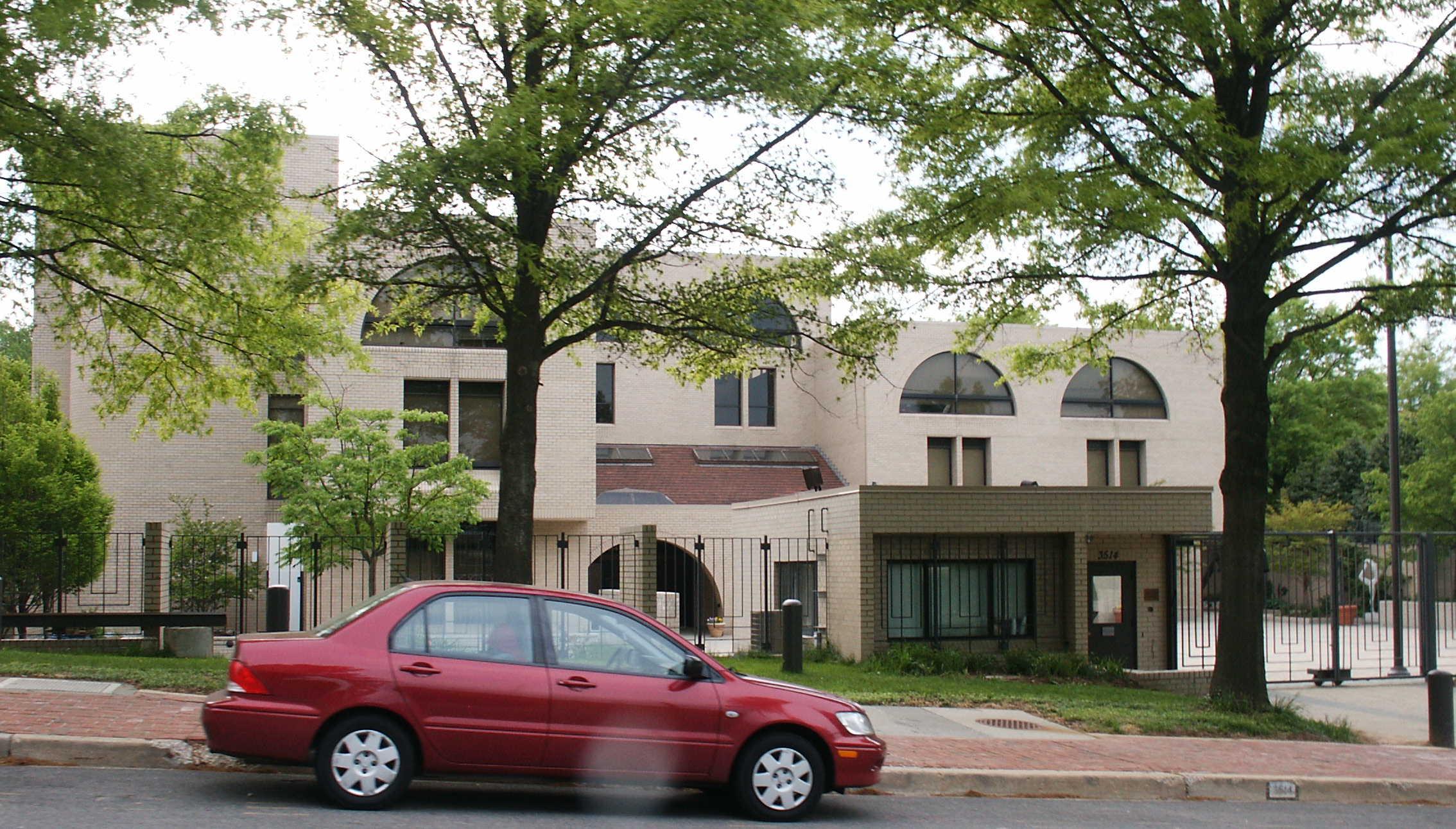 Embassy of Israel in Washington, D C  - Wikipedia