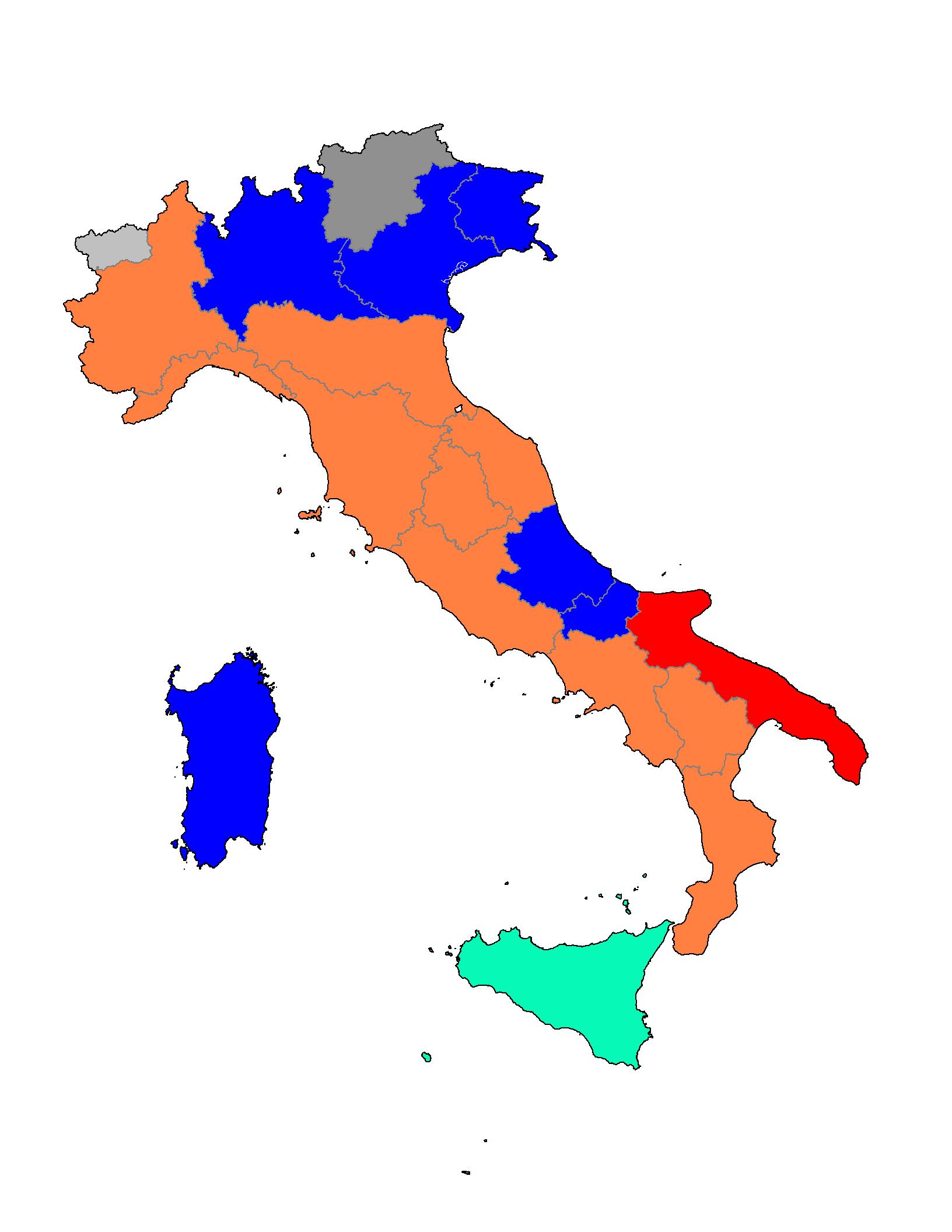 Elezioni regionali italiane del 2010 wikipedia for Nomi dei politici italiani
