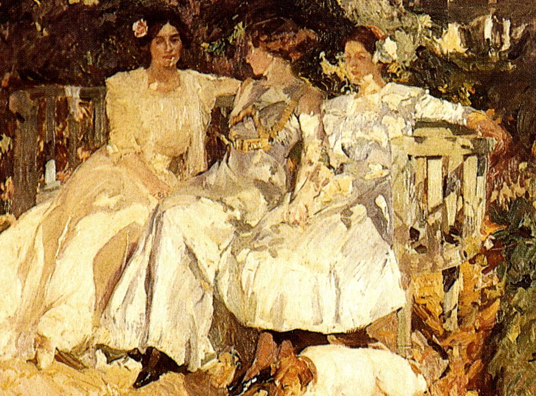 Spanish Family Oil Paintings